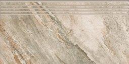 Ступени Kerranova Genesisструктурированный серый 29.4x60