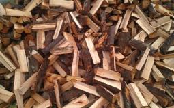 Дрова сосновые колотые