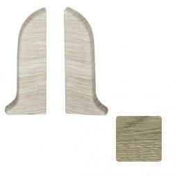 Заглушка торцевая левая и правая (блистер 2 шт.) Salag Дуб Пустынный 56