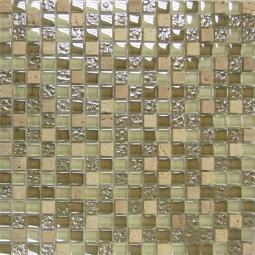 Мозаика Elada Crystal+Stone HK-32 бежевый микс 32.7x32.7