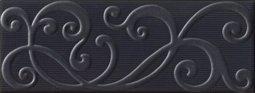 Декор Imola Mozart Zaide N1 Чёрный 12х33