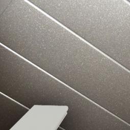 Рейка Н-профиль белый матовый-3306, 85*3000