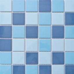 Мозаика Elada Ceramic M48TN336 темно-голубой микс 30.7x30.7