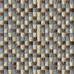 Мозаика Elada Crystal HK-37 вишнево-голубой микс 32.7x32.7