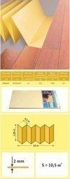 Подложка Solid Желтая 2 мм (1.05 м x 10 м)