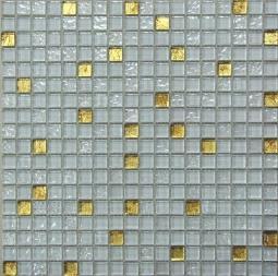 Мозаика Bonаparte Classik day белая глянцевая 30x30