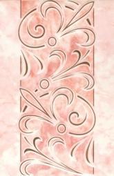 Декор Шаxтинская Плитка Муаре Розовый 04 20x30