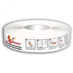 Лента бумажная углоформирующая X-Glass 50х50000
