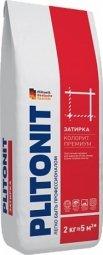 Затирка Plitonit Colorit Premium для швов до 15 мм усиленная армирующими волокнами серая 2кг
