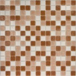 Мозаика Elada Econom на сетке MDA841 розовый микс 32.7x32.7