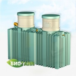 Септик Тритон Пластик Биотанк Элит 6 с насосом