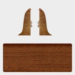 Заглушка торцевая левая и правая (блистер 2 шт.) Т-пласт 026 Орех Антик