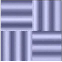 Плитка для пола Vizavi Lines Blue 33x33
