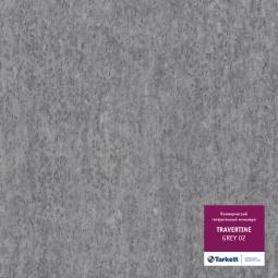 Линолеум коммерческий гетерогенный Tarkett Travertine Grey 2 3 м рулон