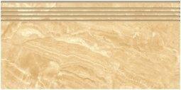 Ступени Kerranova Premium marble полированный бежевый 29.4x60
