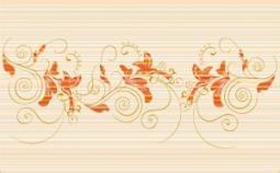 Декор Нефрит-керамика Стрит 04-01-1-09-03-11-071-0 40x25 Оранжевый