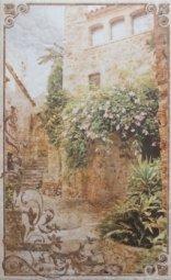 Декор Cracia Ceramica Palermo Beige Decor 04 25x40