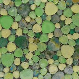 Мозаика Elada Luster Glass M8L3455 зелёный микс 30x30