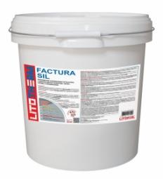 Штукатурка Litokol Litotherm Factura Sil  Шуба декоративная акриловая 2,5 мм Пастельные Тона
