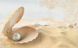 Панно Cracia Ceramica Amalfi Sand Panno 02 50x80