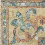 Бордюр Сокол Старый камень 328а пол глянцевый орнамент глянцевый 16.5х16.5