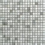 Мозаика Bonаparte Dunes-15 серая матовая 30.5х30.5