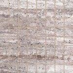 Мозаика Kerranova Terra полированный светло-серый 30x30